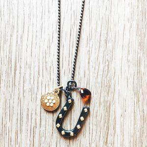 Juicy Couture Horseshoe Necklace